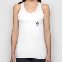 husky Tank Tops featuring Husky by Nillous
