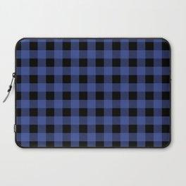 Blue Flannel Laptop Sleeve