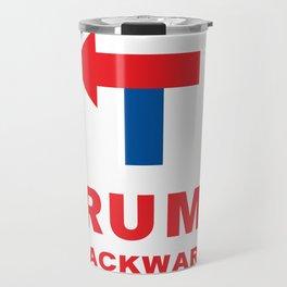 TRUMP backward Travel Mug