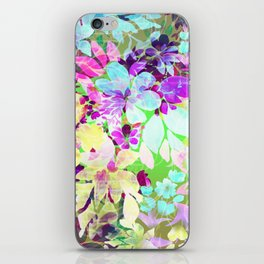 Watercolor Floral iPhone Skin