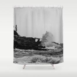 POWERFUL NATURE Shower Curtain
