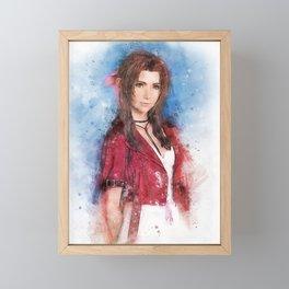 Aerith Gainsborough FF Framed Mini Art Print