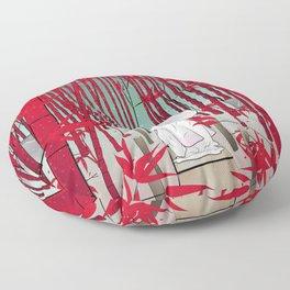 Yuki- onna Floor Pillow