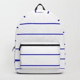 SKINNY STRIPE ((berry blue)) Backpack