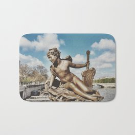 Pont Alexandre III Bridge Paris, France Bath Mat