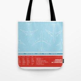 America aviation Tote Bag