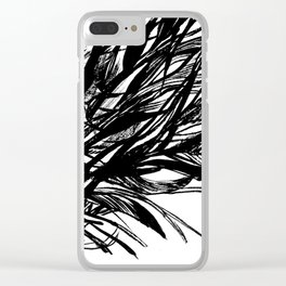 Roots, Branches 01 Clear iPhone Case
