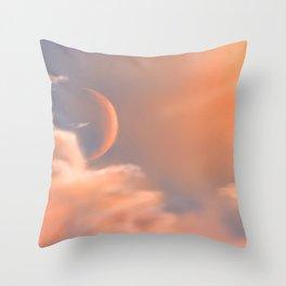 Heavenly Sunset Throw Pillow