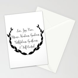 Fruit of the Spirit Stationery Cards