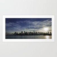 vancouver Art Prints featuring Vancouver by Justin Forster Photo