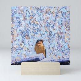 Beautiful Little Barn Swallow Mini Art Print