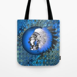 Whimsical Indian Girl Tote Bag