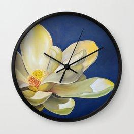 Lotus Square New Wall Clock