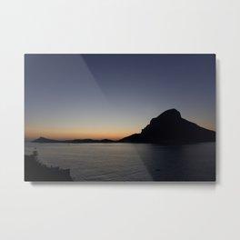 Kalymnos Sunset Metal Print