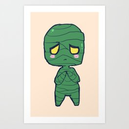 Cute Amumu design Art Print
