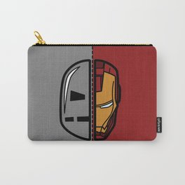 Old & New Iron Man Carry-All Pouch