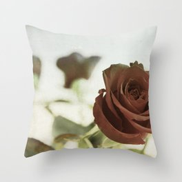 Roses for Scarlet Throw Pillow