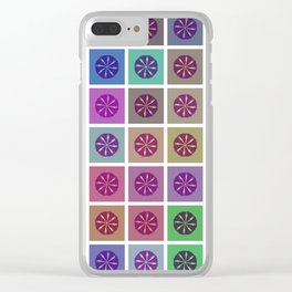 Tessellating Flora Clear iPhone Case