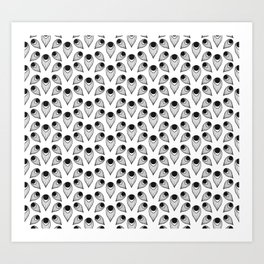 Plume (Patterns Please) Art Print