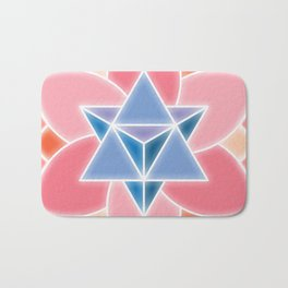 Tetra-Blossom Bath Mat