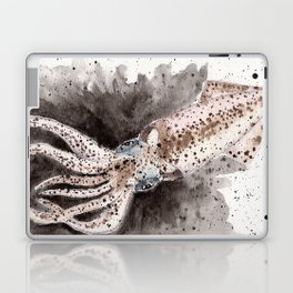 Squid ink and tentacles Laptop & iPad Skin