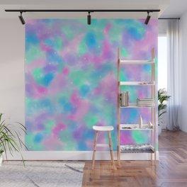 Watercolour Galaxy Pastel Wall Mural
