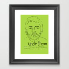 Uncle Thom Framed Art Print