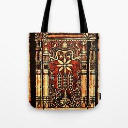 Bohemian Carvings Tote Bag