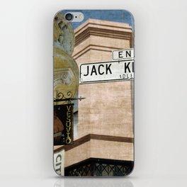 Jack Kerouac Alley and Vesuvio Pub iPhone Skin