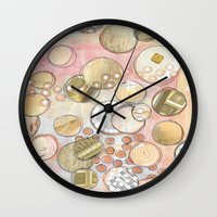 fancy Wall Clocks featuring fanCy by Kras Arts - Fly Me To The Moon