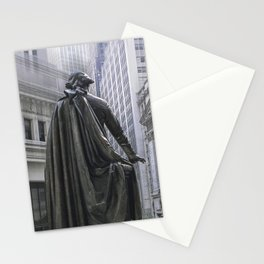 New York City's Wall Street Stationery Cards