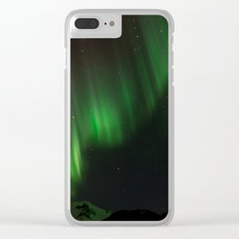 Northern Lights in Norway 02 Clear iPhone Case