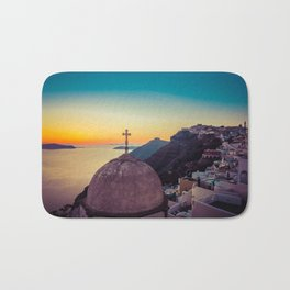 Adorable Santorini Bath Mat
