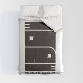 1923 GERMAN WEIMAR BAUHAUS ART EXHIBITION AUSSTELLUNG V.2 A3 POSTER RE PRINT Comforters