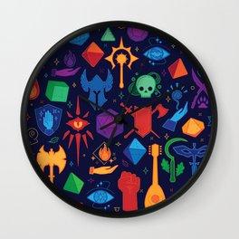 TTRPG Forever - Color Wall Clock
