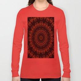 Peacock Velvet Long Sleeve T-shirt