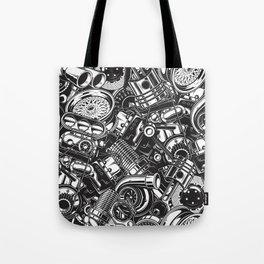 Automobile car parts pattern Tote Bag