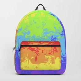 Marble Pride Rainbow Backpack