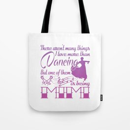 Dancing Mimi Tote Bag