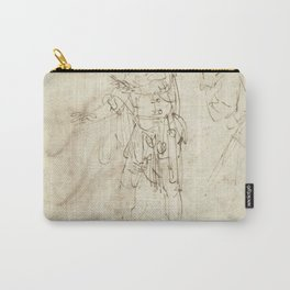 Rembrandt - Actor in the Role of Pantalone Carry-All Pouch