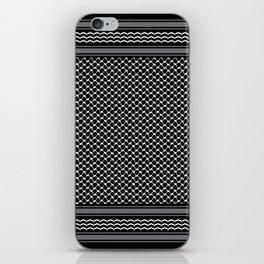 Inverted kofia iPhone Skin