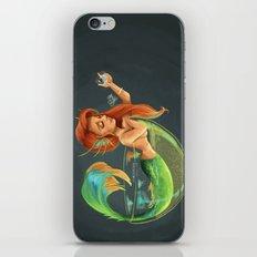 Mermaid Bubble iPhone & iPod Skin