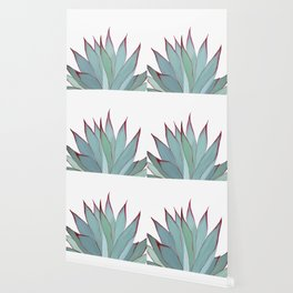 Elegant Agave Fringe Illustration Wallpaper