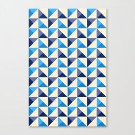 Diamonds Pattern Canvas Print