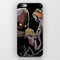 The space friendship of both worlds iPhone & iPod Skin