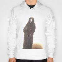 snape Hoodies featuring Snape portrait to remember his death RIP Alan Rickman by Drake Darklight