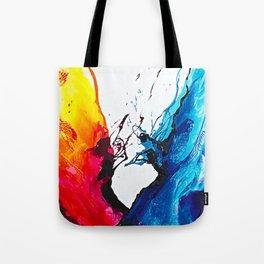Abstract Art Britto - QB292 Art Print Tote Bag