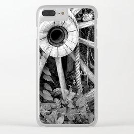 Wagon Wheel #1 Clear iPhone Case