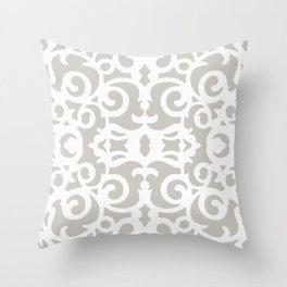 Contemporary Scrollwork Throw Pillow