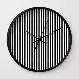 Home Decor Striped Black and White Wall Clock